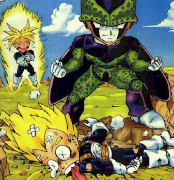 Imagenes Chistosas de Dragon Ball Z